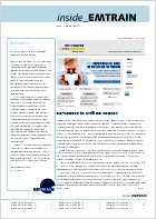 EMTRAIN Newsletter, 1st Edition, April 2011