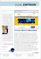 EMTRAIN Newsletter, 6th Edition, November/December 2011
