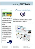 EMTRAIN Newsletter, 10th Edition, July/August/September 2012