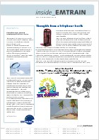 EMTRAIN Newsletter, 9th Edition, May/June 2012