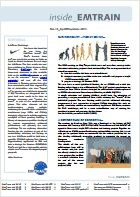 EMTRAIN Newsletter, 13th Edition, April/May/June 2013