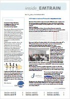 EMTRAIN Newsletter, 14th Edition, July 2013