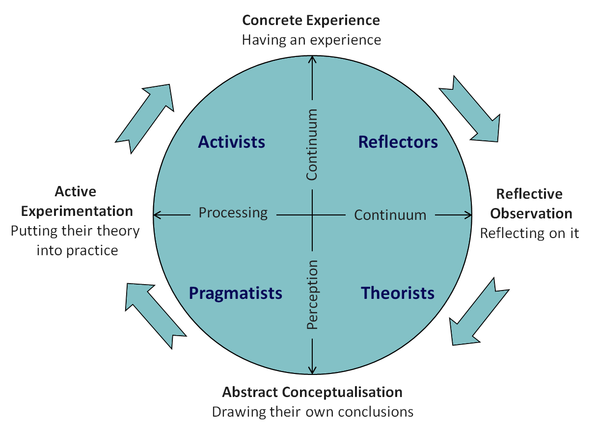 Learning Styles: Activist, Pragmatist, Theorist, Reflector – Which One Is Your Child?